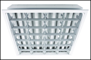 Louver luminaires